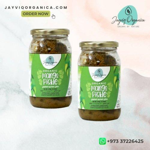 Jayviq Mango Pickles - 2 Pack (350g +350g)