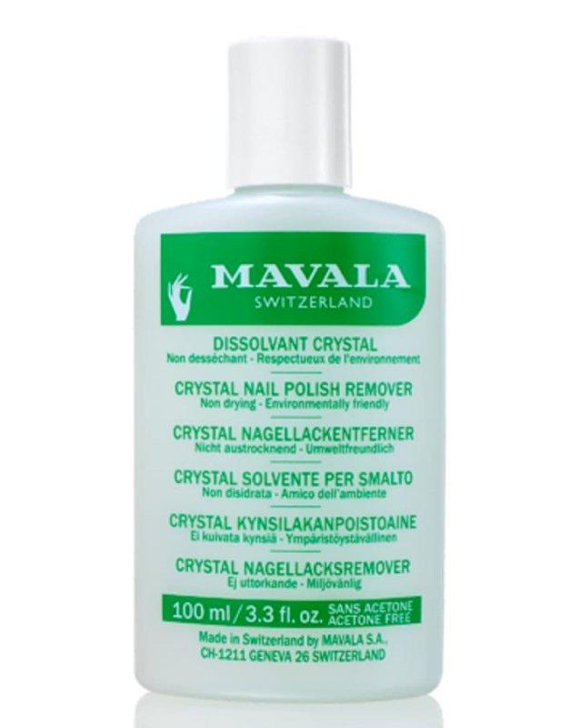 Crystal  Acetone-free, odour-free, colourant-free.