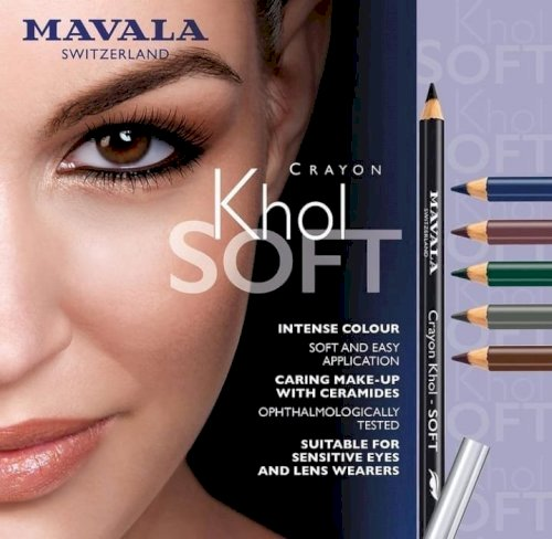 Crayon Khol-Soft , Soft pencils for glowing eyes