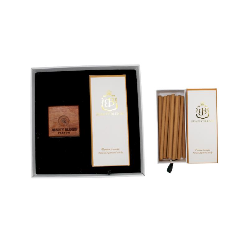 Premuim Aromatic Natural Agarwood Gift Set