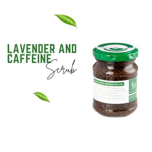 NB Body Scrub Lavender & Caffeine