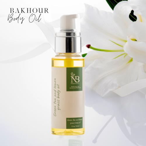 NB Green Tea & Lemon Grass Body Oil