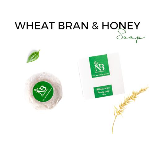 NB Wheat bran & Honey Soap