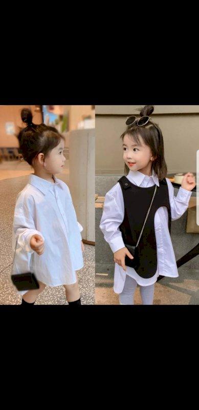 Girls Blouse+vest
