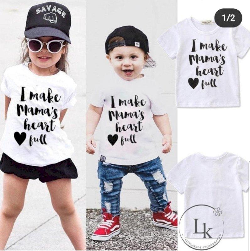 Mama heart full shirt
