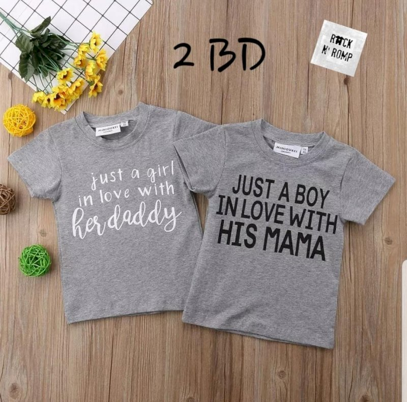 Just a girl in love / just a boy in love shirt