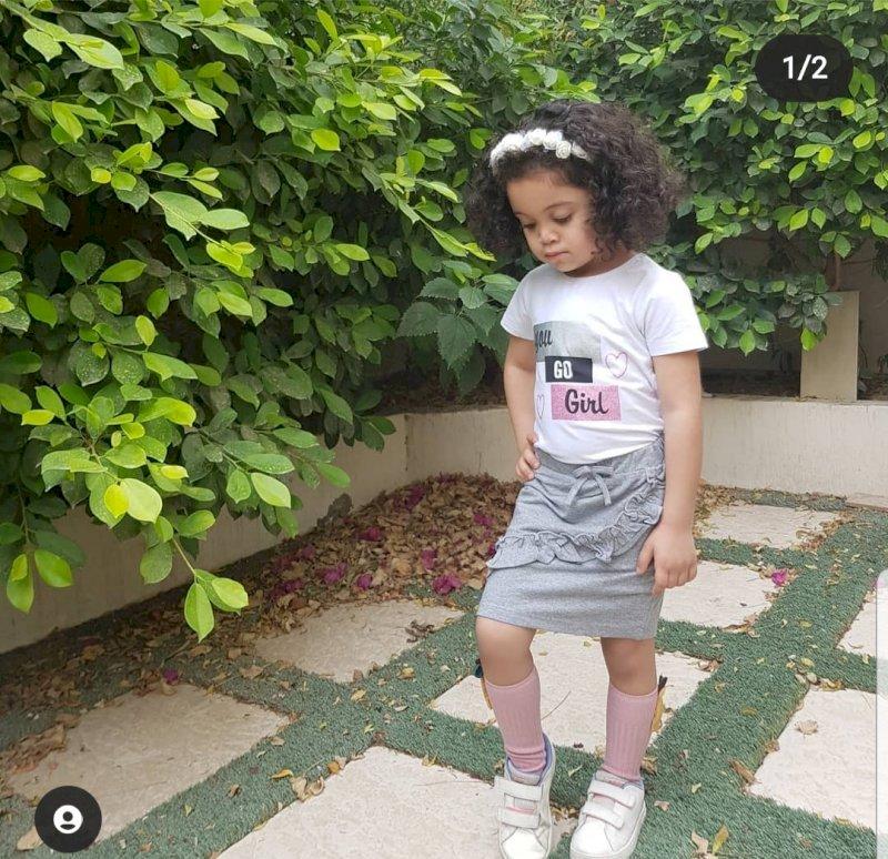 Skirt + shirt set